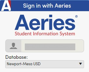 Aeries Website Link
