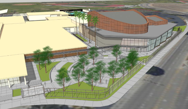 EHS Theater Rendering