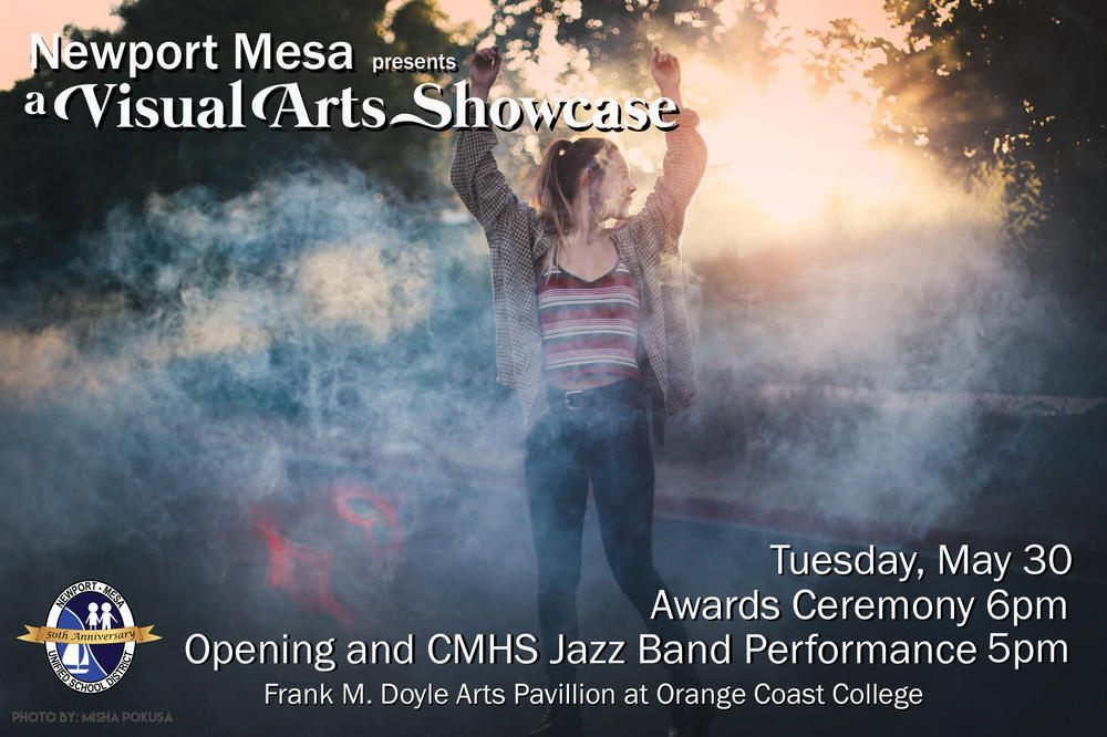 Visual Arts Showcase Flyer