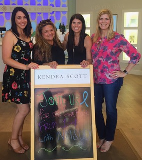 Autism Team at Kendra Scott Fundraiser