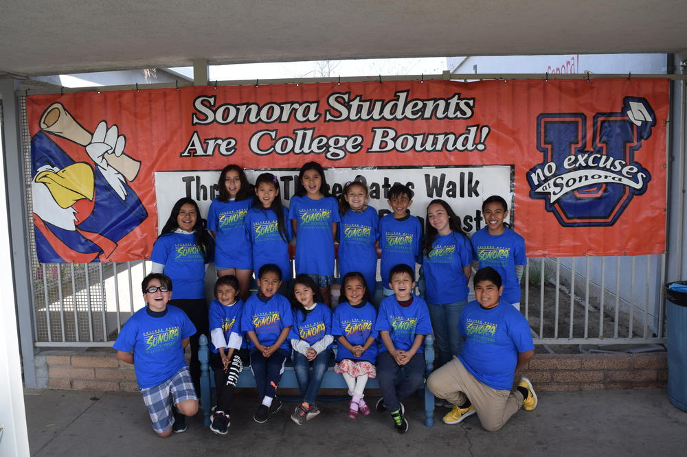 Sonora Elementary Students