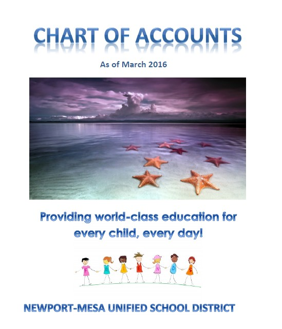 Chart of Accounts March 2016