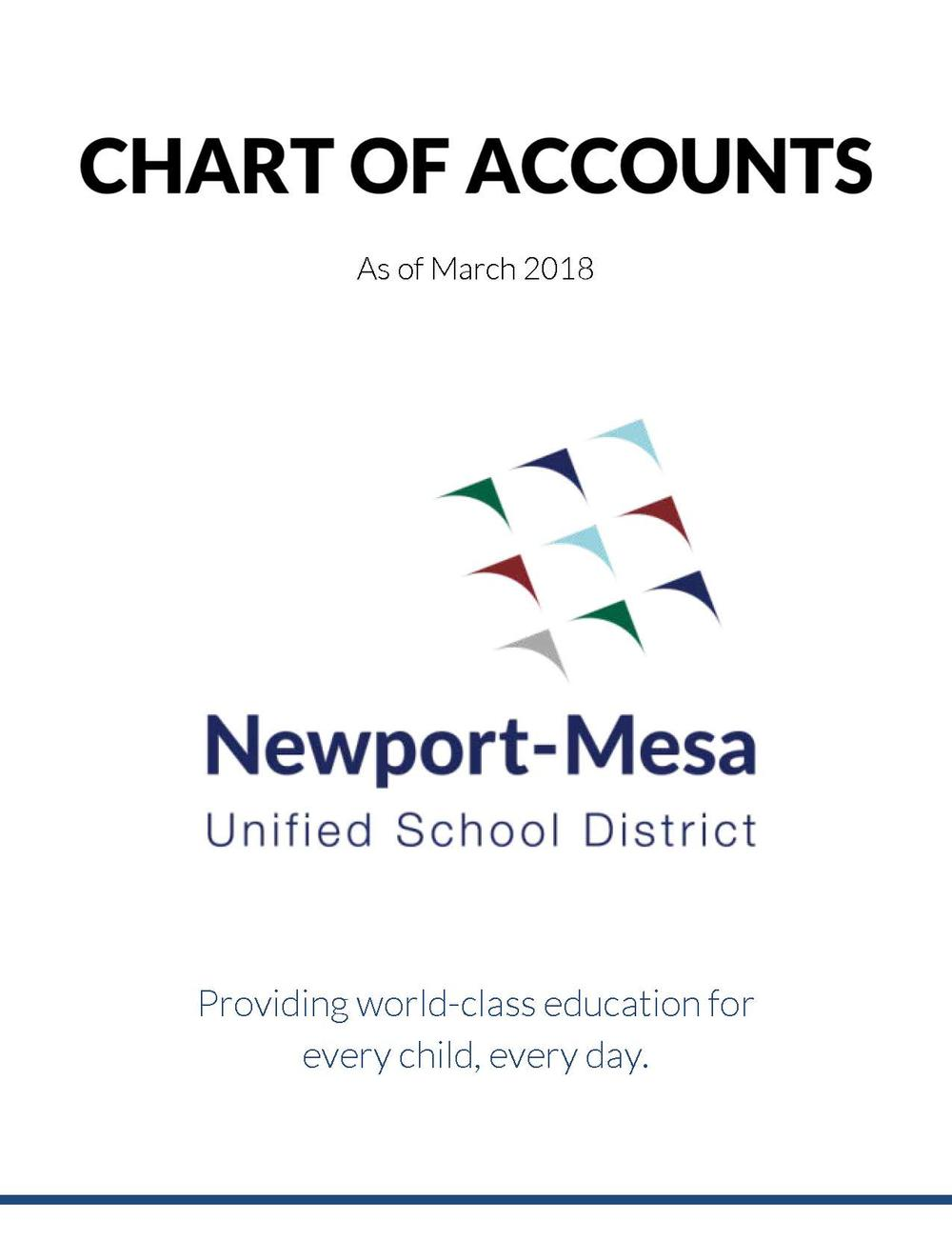 Cover Image - Chart of Accounts